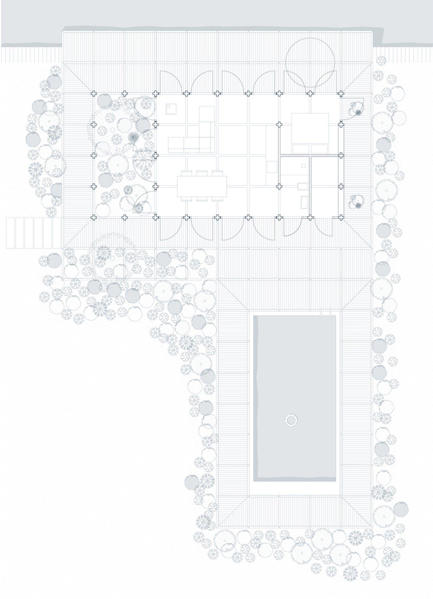 Buitenhuis plan view