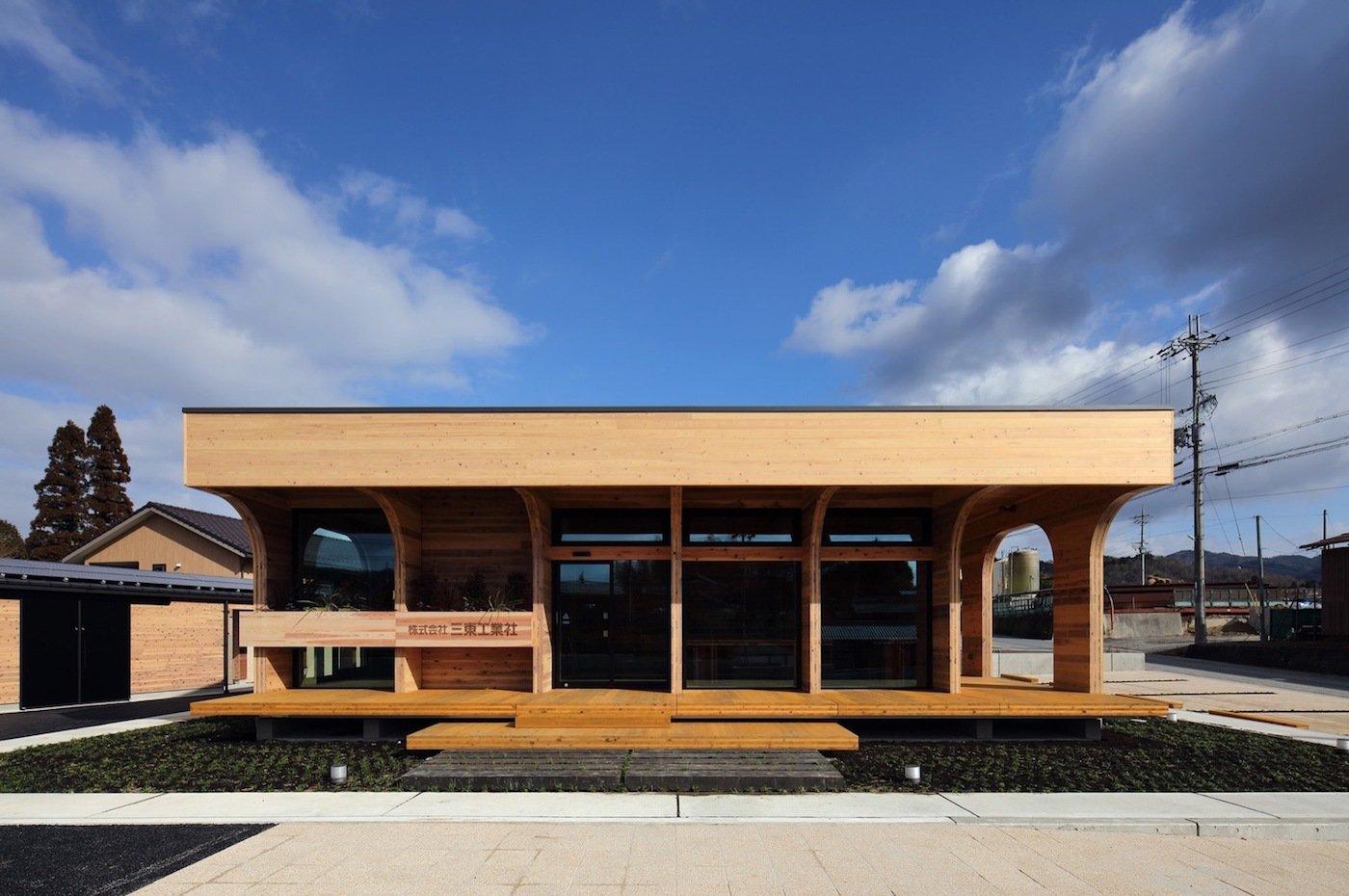 CLT building exterior