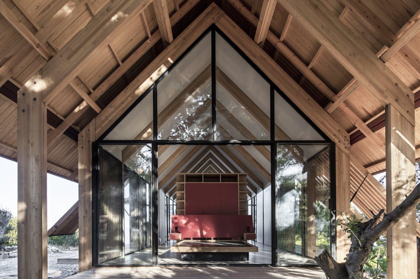 View bedroom from verandah