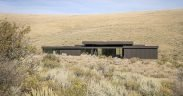 Boar Shoat off-grid family home nestled into the hills