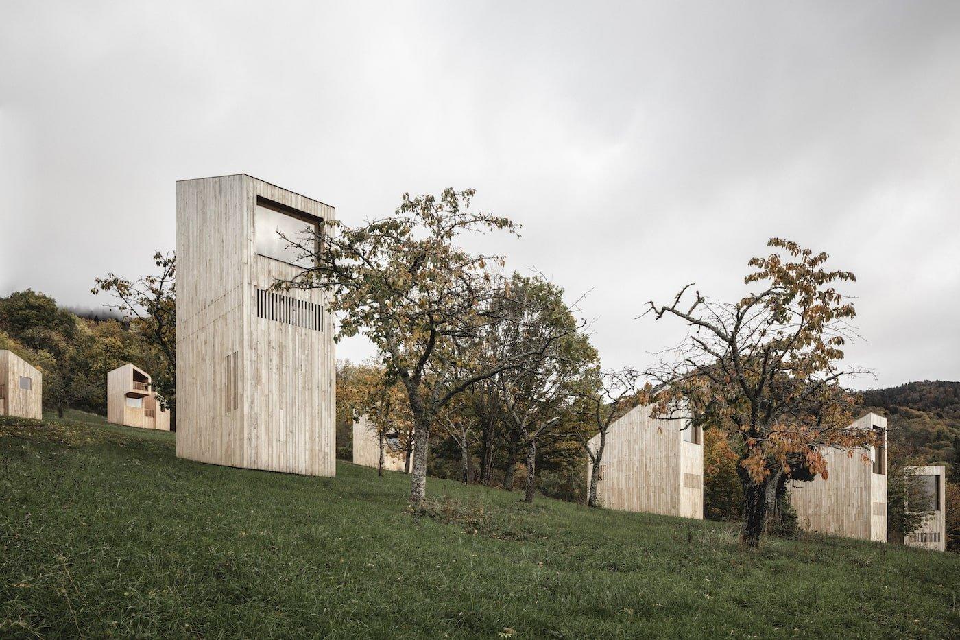 Timber eco retreat