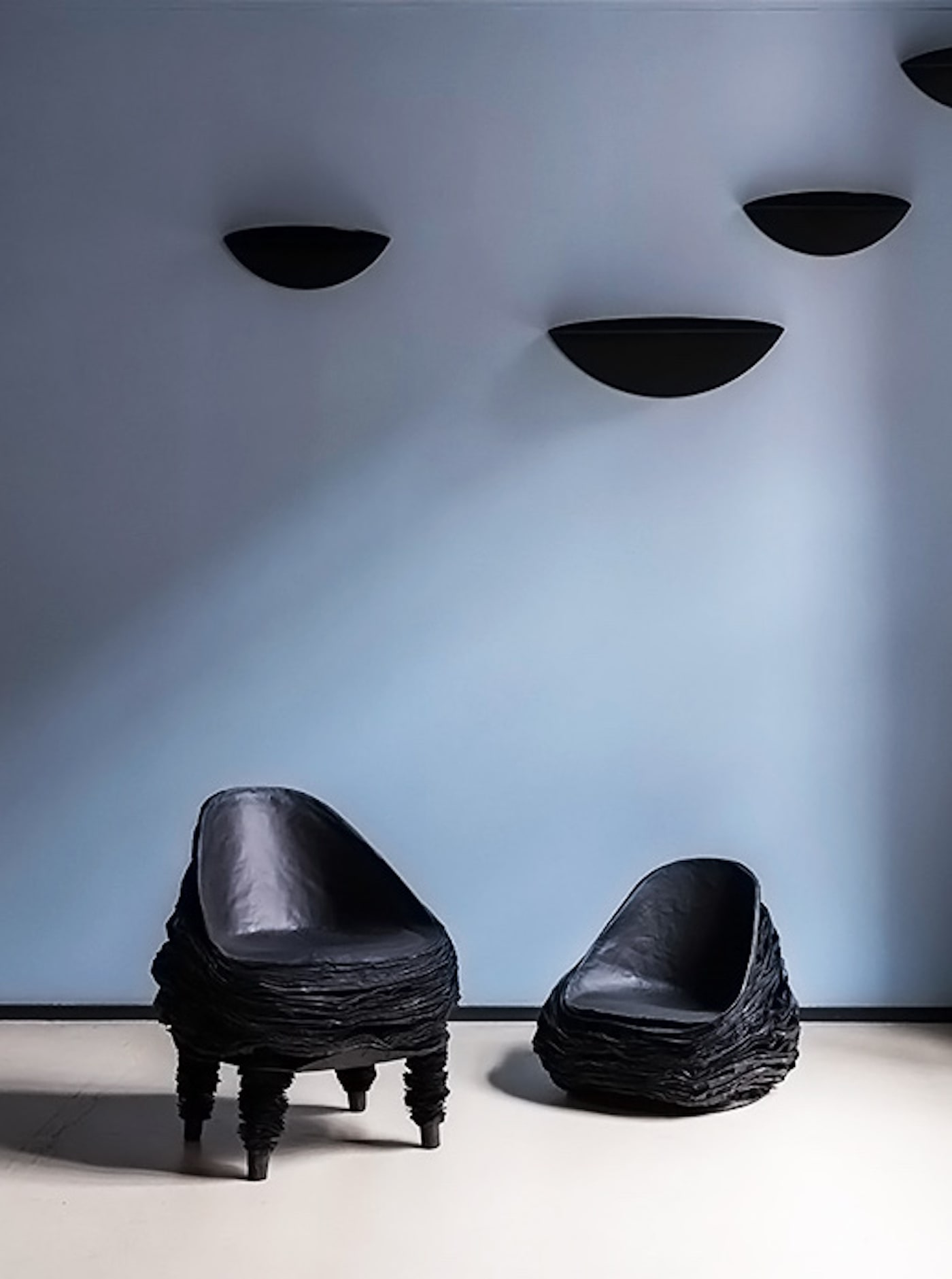 Vadim Kibardin Black Collection chairs