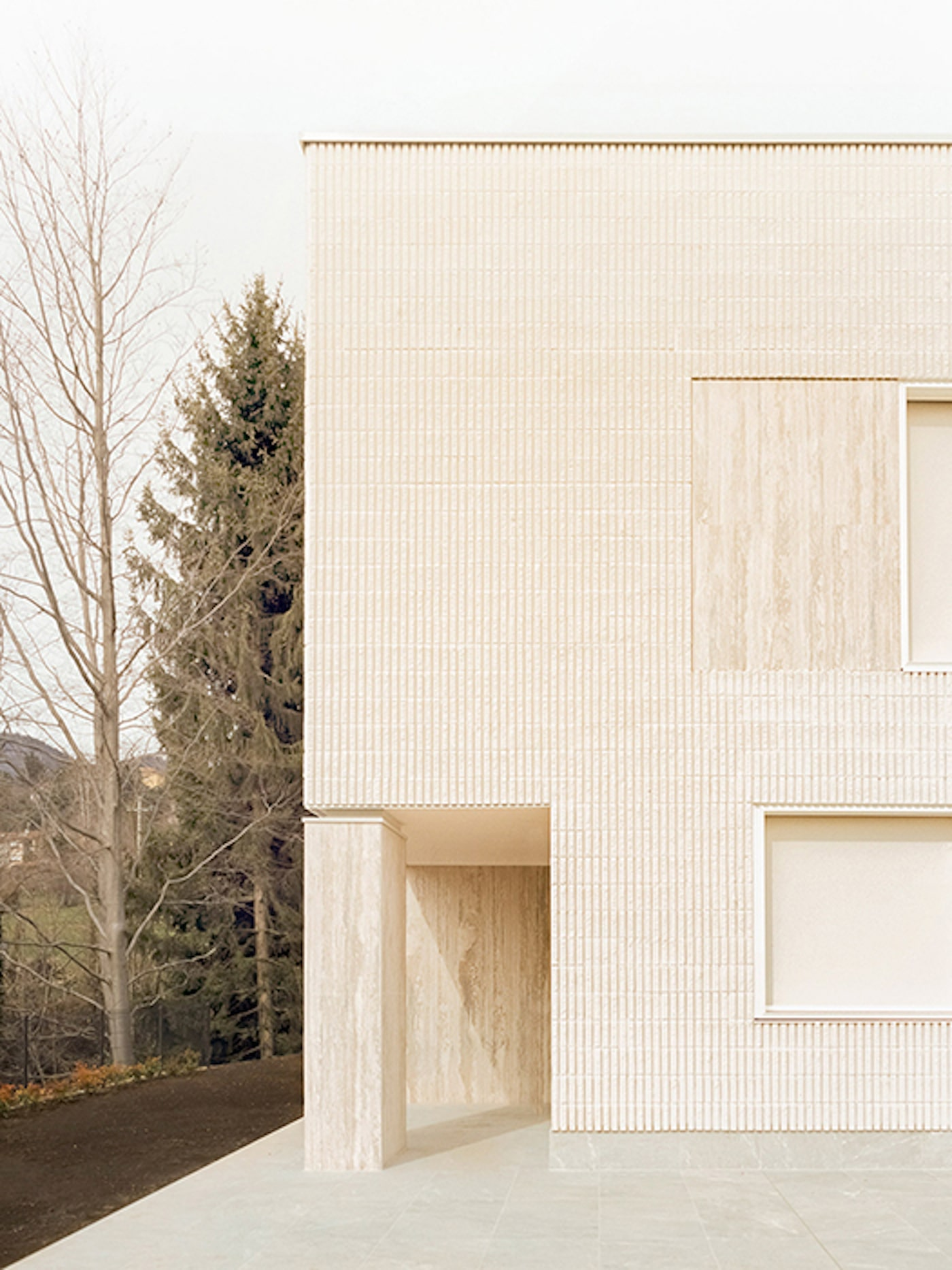 Timber facade of You are home apartments by Luca from LCA