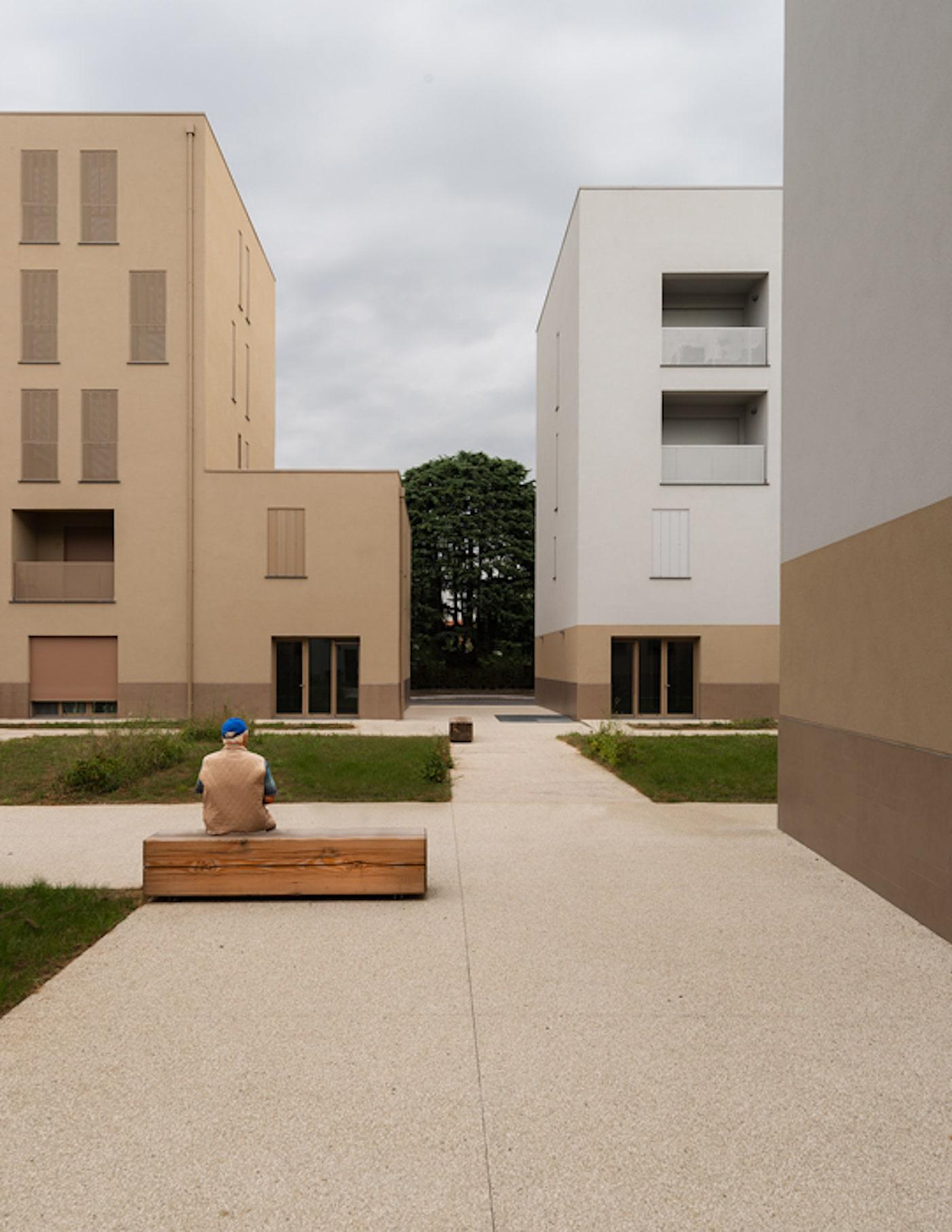 Figino apartment complex by LCA