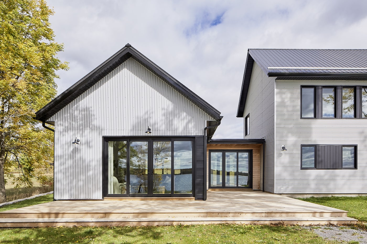 Metal clad sustainable home