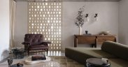 Bricked screen in loungeroom