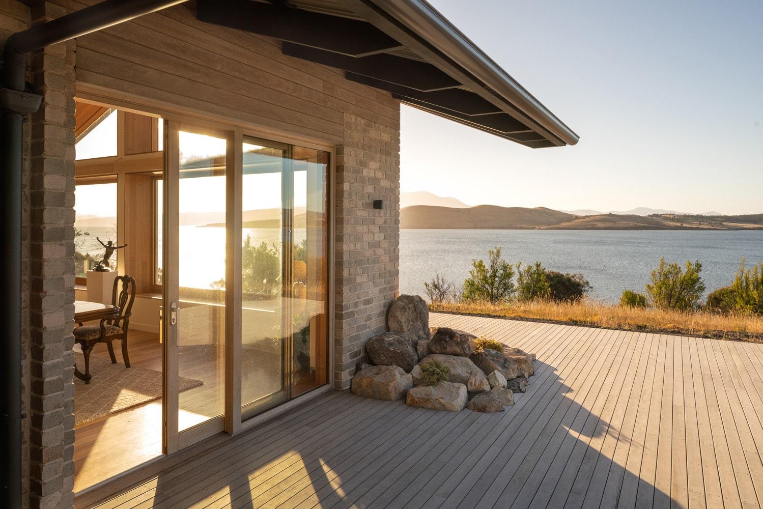 Brick home with timber verandah