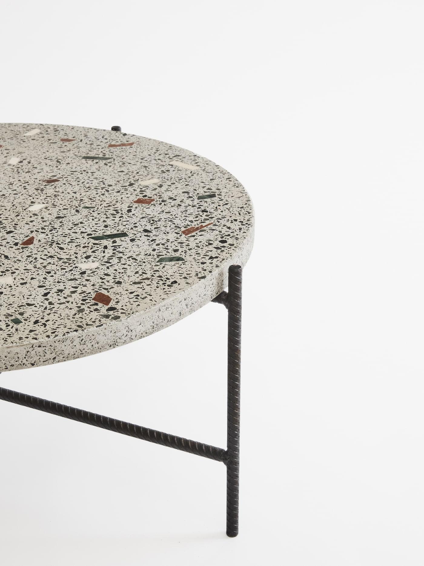 Concrete Terrazzo coffee table